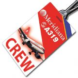 Meridiana A319 Crew Tag